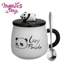 Panda Mug Cute Coffee Mugs birthday Gifts Tea Cup for Mom, Girls, Girlfr... - $13.26