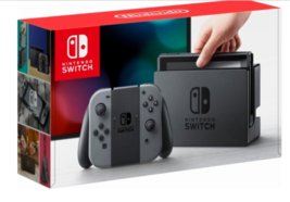 Nintendo Switch - 32GB Gray Console with Gray Joy-Con BRAND NEW! Ready t... - $327.24