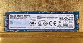 Toshiba 256GB PCle M.2 SATA Internal SSD THNSNJ256G8NY - $45.88