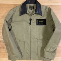 REAL McCOY'S Authentic Flight jacket M-421A Size 38 Used from Japan - $459.00