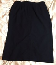 Casual Corner Annex Essentials Navy Blue Ladies Plus Size 22W Long Skirt... - $24.74