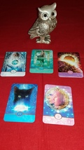 Wisdom Well. I Dip Into Your Subconcious to see Future Reading with FIVE cards - $25.55