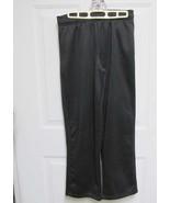 New L Reebok Womens Black Smooth w/Fleece Inside Casual Sweat Pants 30-3... - $16.50