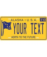 Alaska 1970 License Plate Personalized Custom Car Bike Motorcycle Moped ... - $10.99+