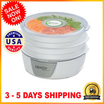 Electric Food Dehydrator 120 Volts AC 600 Watts For Fruits and vegetables - $48.51