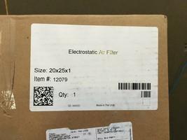 Electrostatic Air Filter 20 x 25 x 1 - $34.65