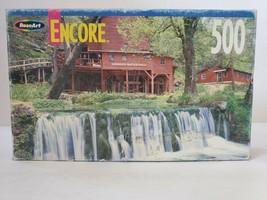 "RoseArt Encore Hodgson's Mill, Missouri 500 Piece JIgsaw Puzzle 10 3/4"" ... - $9.49"