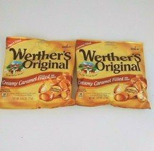 2 BAGS, Werther's Original Creamy Caramel Filled Hard Candy 2.65oz - $9.05