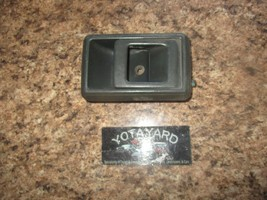 As Is 89-95 Toyota Pickup 4Runner Left Gray Door Handle Inner Latch Yota Yard - $12.87