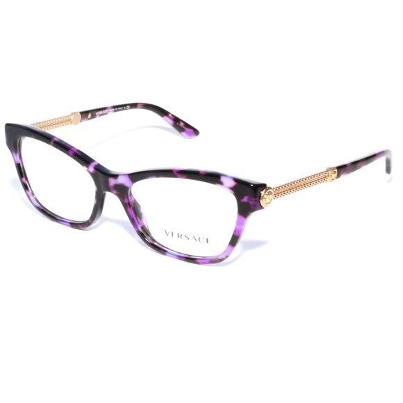 4958396131 New Versace Mod. 3214 Purple Havana 5152 and 50 similar items