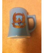 NAVY-USAF COFFEE MUG / CUP--AN / ALQ-165   BLUE  --FREE SHIP--EUC - $14.48