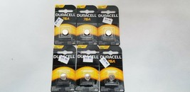 6 pcs. Duracell Alkaline 76A PX76A 675A A76 LR44 MR4 1.5V Batteries Exp: 03/2023 - $12.00