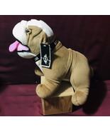 Mini Cooper Mascot Bulldog w/Collar Collectible Stuffed Plush Toy Animal - $34.65