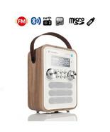 InstaBox i10 Digital FM Radio Multi-Functional MP3 Player Wooden Clock R... - $79.19