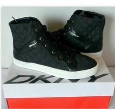 DKNY Donna Karan Women's Sigrid Quilted Hi Top Fashion Sneaker Shoes, Si... - $48.00