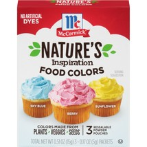 McCormick Nature's Inspiration Food Colors, 0.51 Oz - $2.28