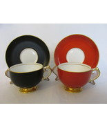 Vintage Demitasse Bone China Cup & Saucer Sets, Copelands Grosvenor, 193... - $14.99