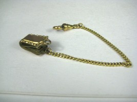 Goldtone Watch Chain Link 3mm Patent Pending Clip 5.5 inches Long - $19.79