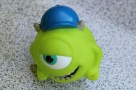 "Monsters University Disney Pixar Mike Wazowski Hat & Braces Green Toy 3""... - $12.34"