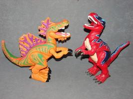 Fisher Price Imaginext Dinosaur Ripper the Spinosaurus + T-Rex [Work] - $24.00