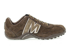 Sneakers MERRELL 544087 in brown suede leather - Men's Shoes - $147.06