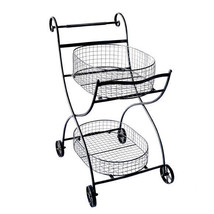 "Metal Garden Flower Cart 27""x25""x36"" - D42398 - $2.830,33 MXN"