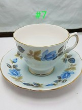 Colclough Fancy cup and saucer bone china England #3 - $12.99