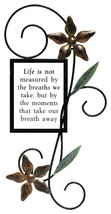 Fetco Home Decor Halle Wall Art  Life Is Not Measured - $30.00