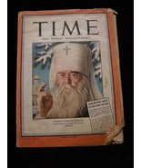 Time Magazine December 27 1943 Russia Patriach Sergei Bari - $18.99