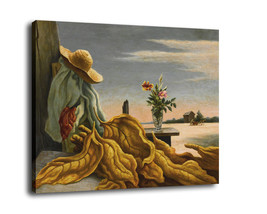 "Cartoon Art Home Decor Oil Painting Print On Canvas ""Flower And Tobacco ... - $12.19+"