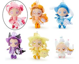Ojamajo Doremi Sanrio Characters collabo Plush Harukaze Hello Kitty Red ... - $30.00