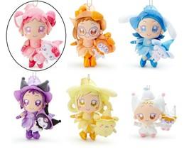 Ojamajo Doremi Sanrio Characters collabo Plush Harukaze Hello Kitty Red ... - $30.00
