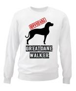 GREAT DANE 2 - OFFICIAL WALKER - NEW WHITE COTTON SWEATSHIRT - $30.65