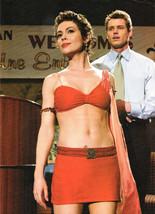 Alyssa Milano teen magazine pinup clipping short red mini skirt Japan