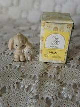 Enesco Precious Moments Porcelain Puppy Love Figure 1988 - $14.54