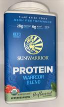 SunWarrior Protein Warrior Blend Unflavored Dietary Supplement - 26.4 oz... - $28.99