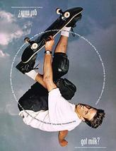 "Tony Hawk - Got Milk ? - Magazine Ad - Year 1998-11"" x 8"" Teen Magazine Poster P - $7.90"