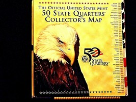 50 State Quarters Collector's Map AA19-CN19Q6021 image 2