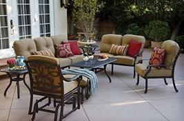 Patio Conversation Set. Furniture Kit of Cast Aluminum for Fire Pit, Por... - €3.864,11 EUR