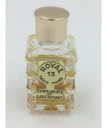 Vintage Lane Bryant Mini Royal 13 Paris France Perfume 40% Full FR - $19.95