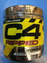 Cellucor C4 RIPPED Pre Workout 30 Servings Ultra Frost 08/20 - $18.69
