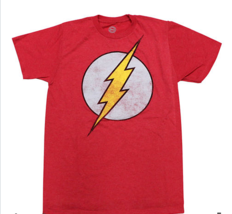 DC Comics The Flash Red Heather Graphic Tee Shirt - $13.99
