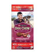 Purina Dog Chow Tender & Crunchy with Real Lamb Adult Dry Dog Food - 40 ... - $42.80