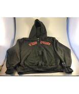 Ohio State Buckeyes Full Zip Hoodie Sweatshirt Sz L Large Sewn Champion - $24.74