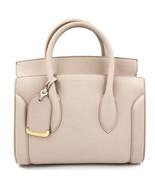 Alexander McQueen Heroine 30 Nude Medium Leather Shoulder Bag 508859DX50M - $1,499.00
