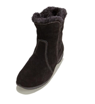 Sporto Karmen, waterproof women's suede boots, Black 9.5W - $1.140,16 MXN