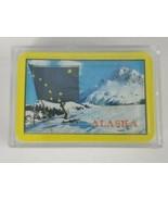 Alaskan Flag Scenic Cardback Mini Deck Hard Case Playing Cards - $6.79