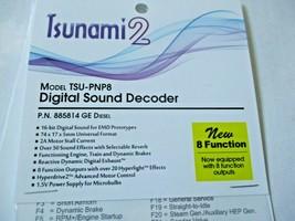 Soundtraxx 885814 Tsunami 2 TSU-PNP8 Digital Sound Decoder GE Diesel 8 Function image 2