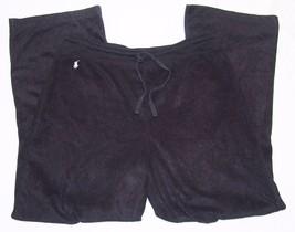 Polo Ralph Lauren M  Lounge Pajama Pants Mens Soft Black PJ - $25.87
