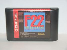 Sega Genesis - F-22 INTERCEPTOR (Game Only) - $10.00